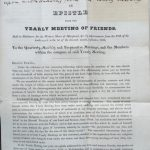 Separation Epistle published after the 1828 meeting.