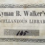 Walker, Lyman B. — of Gilford, Belknap County, N.H. New Hampshire state attorney general, 1843-47